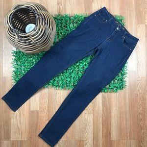 L.A. Premium Wax Jeans Straight Mid Rise Denim